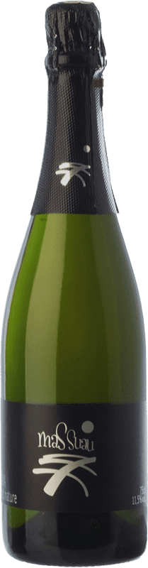 8,95 € Free Shipping | White sparkling Ferré i Catasús Mas Suau Brut Nature Reserva D.O. Cava Catalonia Spain Macabeo, Xarel·lo, Parellada Bottle 75 cl