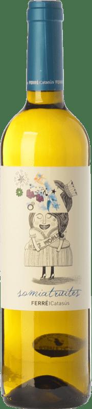 7,95 € Free Shipping | White wine Ferré i Catasús Somiatruites D.O. Penedès Catalonia Spain Xarel·lo, Chardonnay, Sauvignon White, Muscatel Small Grain, Chenin White Bottle 75 cl