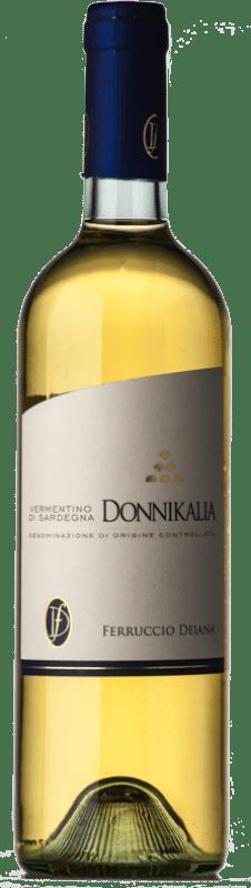 9,95 € | White wine Ferruccio Deiana Donnikalia D.O.C. Vermentino di Sardegna Sardegna Italy Vermentino Bottle 75 cl
