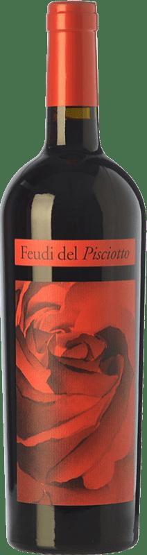 22,95 € Free Shipping | Red wine Feudi del Pisciotto I.G.T. Terre Siciliane Sicily Italy Merlot Bottle 75 cl