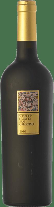 66,95 € Envío gratis | Vino tinto Feudi di San Gregorio Serpico D.O.C. Irpinia Campania Italia Aglianico Botella 75 cl