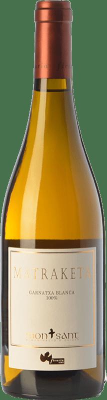 19,95 € Envío gratis | Vino blanco Ficaria Matraketa Blanc D.O. Montsant Cataluña España Garnacha Blanca Botella 75 cl