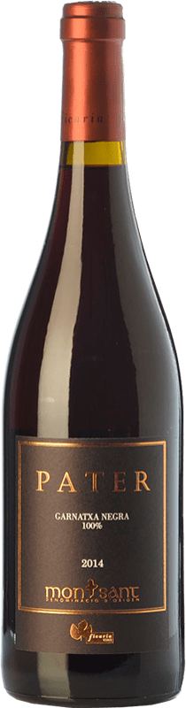 33,95 € Envío gratis | Vino tinto Ficaria Pater Crianza D.O. Montsant Cataluña España Garnacha Botella 75 cl