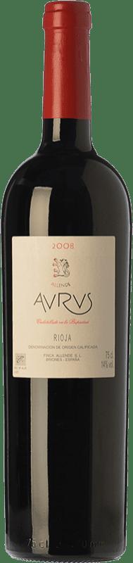 193,95 € Envío gratis | Vino tinto Allende Aurus Reserva 2010 D.O.Ca. Rioja La Rioja España Tempranillo, Graciano Botella 75 cl