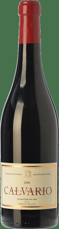 101,95 € Envío gratis | Vino tinto Allende Calvario Crianza 2010 D.O.Ca. Rioja La Rioja España Tempranillo, Garnacha, Graciano Botella 75 cl