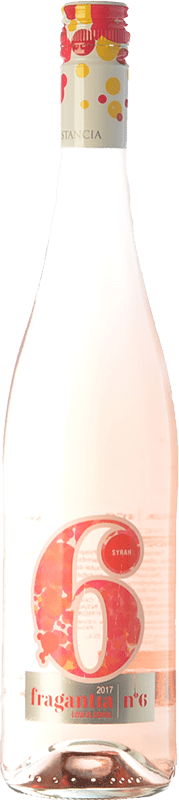 5,95 € Free Shipping | Rosé wine Finca Constancia Fragantia Nº 6 I.G.P. Vino de la Tierra de Castilla Castilla la Mancha Spain Syrah Bottle 75 cl
