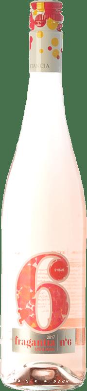 5,95 € Envío gratis | Vino rosado Finca Constancia Fragantia Nº 6 I.G.P. Vino de la Tierra de Castilla Castilla la Mancha España Syrah Botella 75 cl