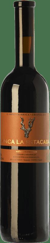 9,95 € 免费送货 | 红酒 Finca La Estacada 12 Meses Crianza D.O. Uclés 卡斯蒂利亚 - 拉曼恰 西班牙 Tempranillo 瓶子 75 cl