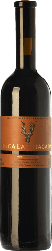 9,95 € Envío gratis | Vino tinto Finca La Estacada 12 Meses Crianza D.O. Uclés Castilla la Mancha España Tempranillo Botella 75 cl