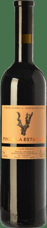 5,95 € Envío gratis | Vino tinto Finca La Estacada 6 Meses Joven D.O. Uclés Castilla la Mancha España Tempranillo Botella 75 cl