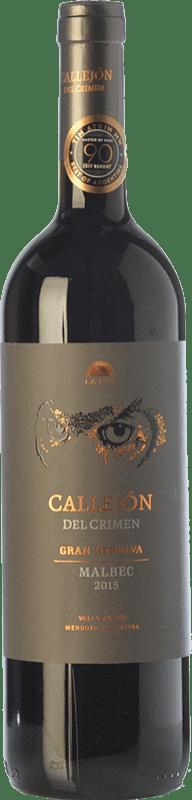 19,95 € Free Shipping | Red wine Finca La Luz Callejón del Crimen Gran Reserva I.G. Valle de Uco Uco Valley Argentina Malbec Bottle 75 cl