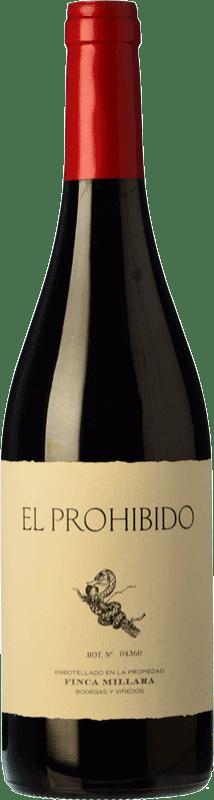 15,95 € Envoi gratuit | Vin rouge Míllara El Prohibido Joven Espagne Mencía, Sousón Bouteille 75 cl