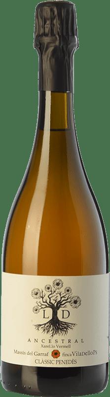 15,95 € 免费送货 | 白起泡酒 Finca Viladellops LD Ancestral D.O. Penedès 加泰罗尼亚 西班牙 Xarel·lo Vermell 瓶子 75 cl