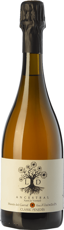 16,95 € | White sparkling Finca Viladellops LD Ancestral D.O. Penedès Catalonia Spain Xarel·lo Vermell Bottle 75 cl