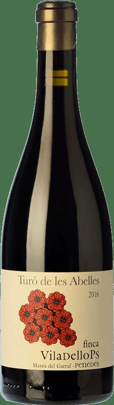 23,95 € Envoi gratuit | Vin rouge Finca Viladellops Turó de les Abelles Crianza D.O. Penedès Catalogne Espagne Syrah, Grenache Bouteille 75 cl