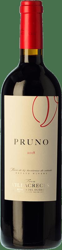 27,95 € 免费送货 | 红酒 Finca Villacreces Pruno Crianza D.O. Ribera del Duero 卡斯蒂利亚莱昂 西班牙 Tempranillo, Cabernet Sauvignon 瓶子 Magnum 1,5 L