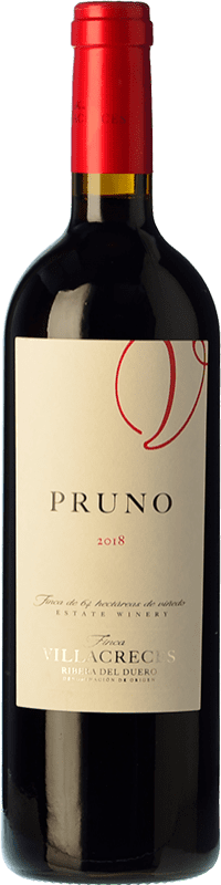 27,95 € Envoi gratuit | Vin rouge Finca Villacreces Pruno Crianza D.O. Ribera del Duero Castille et Leon Espagne Tempranillo, Cabernet Sauvignon Bouteille Magnum 1,5 L