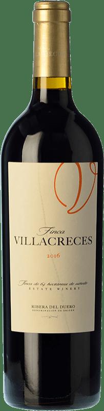 79,95 € 免费送货 | 红酒 Finca Villacreces Crianza D.O. Ribera del Duero 卡斯蒂利亚莱昂 西班牙 Tempranillo, Merlot, Cabernet Sauvignon 瓶子 Magnum 1,5 L