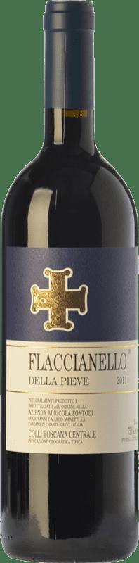 106,95 € Free Shipping | Red wine Fontodi Flaccianello della Pieve I.G.T. Colli della Toscana Centrale Tuscany Italy Sangiovese Bottle 75 cl