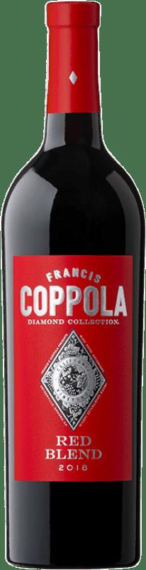 27,95 € Envoi gratuit | Vin rouge Francis Ford Coppola Diamond Red Blend Crianza I.G. California Californie États Unis Merlot, Syrah, Cabernet Sauvignon, Petite Syrah, Zinfandel Bouteille 75 cl