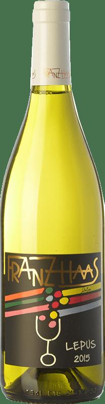 19,95 € Free Shipping | White wine Franz Haas Pinot Bianco Lepus D.O.C. Alto Adige Trentino-Alto Adige Italy Pinot White Bottle 75 cl