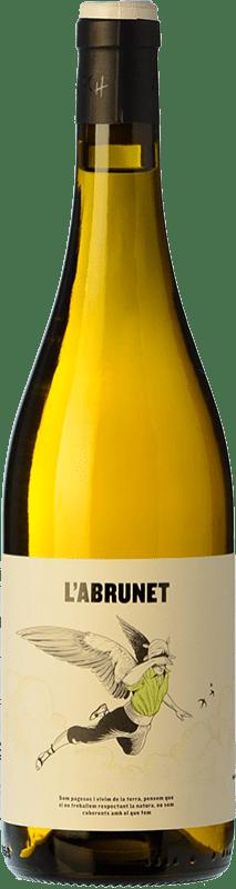 9,95 € Free Shipping | White wine Frisach L'Abrunet Blanc D.O. Terra Alta Catalonia Spain Grenache White Bottle 75 cl