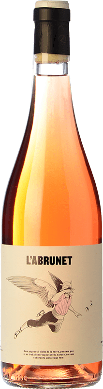 9,95 € Envío gratis | Vino rosado Frisach L'Abrunet Rosat D.O. Terra Alta Cataluña España Garnacha, Garnacha Blanca, Garnacha Gris Botella 75 cl