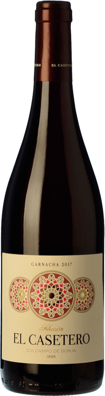 7,95 € 免费送货 | 红酒 Frontonio El Casetero Joven D.O. Campo de Borja 阿拉贡 西班牙 Grenache 瓶子 75 cl