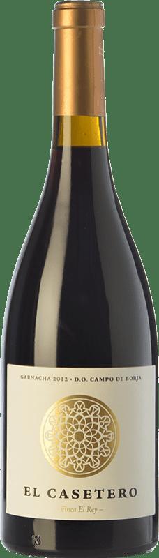14,95 € Envío gratis | Vino tinto Frontonio El Casetero Finca el Rey Crianza D.O. Campo de Borja Aragón España Garnacha Botella 75 cl