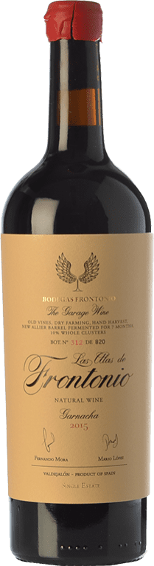 47,95 € 免费送货 | 红酒 Frontonio Las Alas Joven I.G.P. Vino de la Tierra de Valdejalón 阿拉贡 西班牙 Grenache 瓶子 75 cl