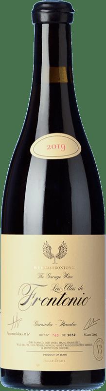 47,95 € Envío gratis | Vino tinto Frontonio Las Alas Joven I.G.P. Vino de la Tierra de Valdejalón Aragón España Garnacha Botella 75 cl