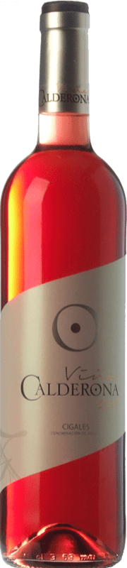 5,95 € | Rosé wine Frutos Villar Viña Calderona Joven D.O. Cigales Castilla y León Spain Tempranillo, Grenache, Albillo, Verdejo Bottle 75 cl