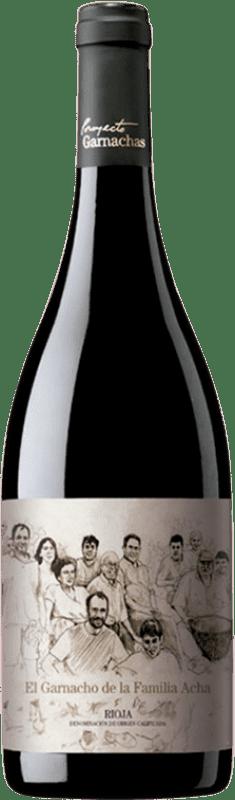 106,95 € 免费送货 | 红酒 Garnachas de España El Garnacho Viejo de la Familia Acha Crianza 2009 D.O.Ca. Rioja 拉里奥哈 西班牙 Grenache 瓶子 75 cl
