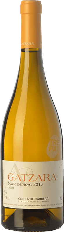 12,95 € | White wine Gatzara Blanc de Noirs D.O. Conca de Barberà Catalonia Spain Trepat Bottle 75 cl