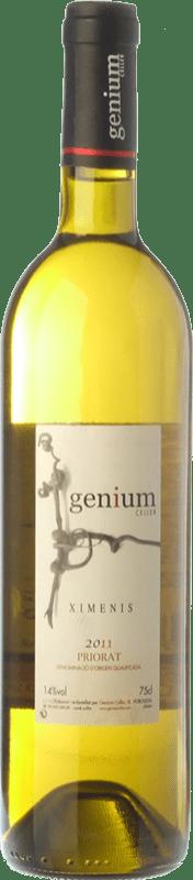 13,95 € | White wine Genium Ximenis Crianza D.O.Ca. Priorat Catalonia Spain Grenache White, Macabeo, Pedro Ximénez Bottle 75 cl