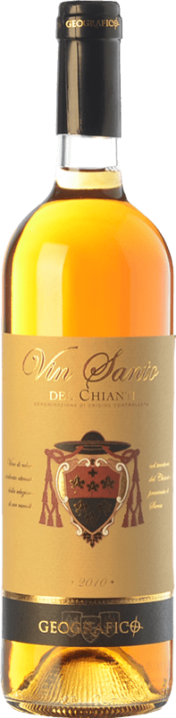 22,95 € | Sweet wine Geografico D.O.C. Vin Santo del Chianti Tuscany Italy Trebbiano Toscano, Malvasia Del Chianti Bottle 75 cl