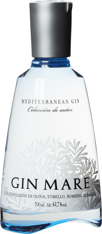 34,95 € 免费送货 | 金酒 Gin Mare 加泰罗尼亚 西班牙 瓶子 70 cl
