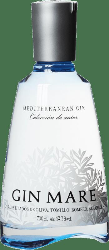 34,95 € Envío gratis | Ginebra Gin Mare Cataluña España Botella 70 cl
