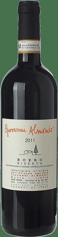 24,95 € Free Shipping | Red wine Giovanni Almondo Riserva Reserva D.O.C.G. Roero Piemonte Italy Nebbiolo Bottle 75 cl