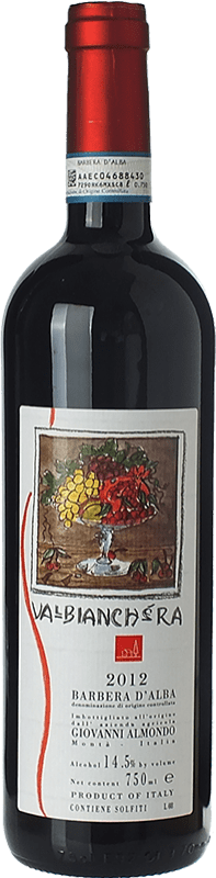 15,95 € Free Shipping | Red wine Giovanni Almondo Valbianchera D.O.C. Barbera d'Alba Piemonte Italy Barbera Bottle 75 cl