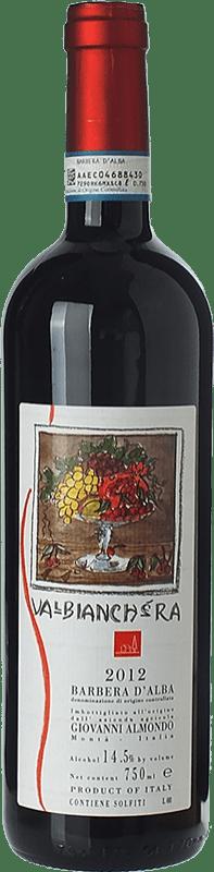 15,95 € | Red wine Giovanni Almondo Valbianchera D.O.C. Barbera d'Alba Piemonte Italy Barbera Bottle 75 cl