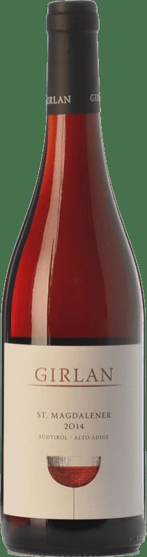 9,95 € Free Shipping | Red wine Girlan St. Magdalener D.O.C. Alto Adige Trentino-Alto Adige Italy Lagrein, Schiava Gentile Bottle 75 cl