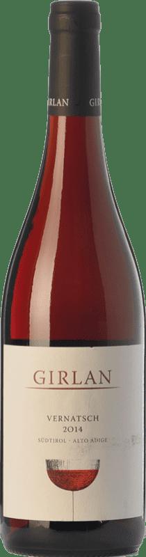 9,95 € 免费送货 | 红酒 Girlan Vernatsch D.O.C. Alto Adige 特伦蒂诺 - 上阿迪杰 意大利 Schiava Gentile 瓶子 75 cl