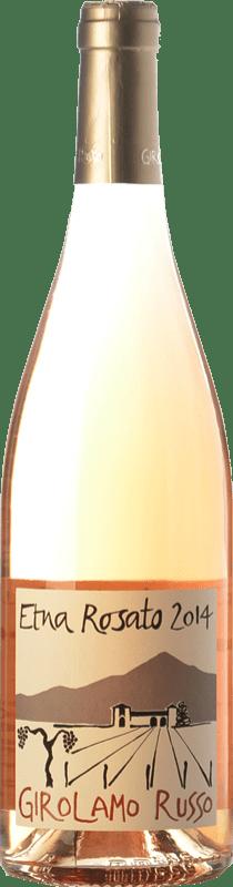 22,95 € Free Shipping | Rosé wine Girolamo Russo Rosato D.O.C. Etna Sicily Italy Nerello Mascalese, Nerello Cappuccio Bottle 75 cl