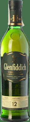 26,95 € 免费送货 | 威士忌单一麦芽威士忌 Glenfiddich 12 斯佩塞 英国 瓶子 70 cl
