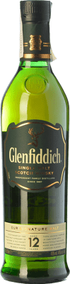 26,95 € Kostenloser Versand | Whiskey Single Malt Glenfiddich 12 Speyseite Großbritannien Flasche 70 cl