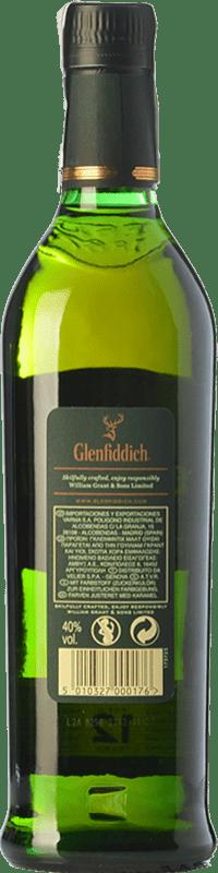 26,95 € Free Shipping | Whisky Single Malt Glenfiddich 12 Speyside United Kingdom Bottle 70 cl