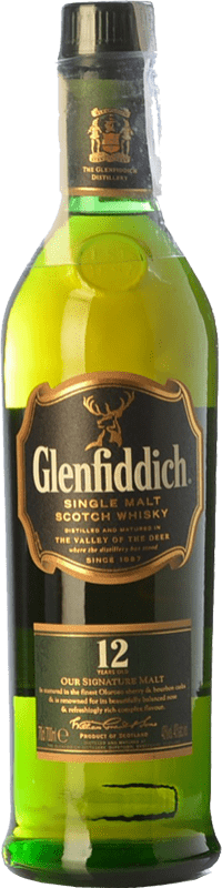 44,95 € | Whisky Single Malt Glenfiddich 12 Nomad Edition Speyside United Kingdom Bottle 70 cl