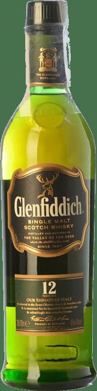 44,95 € Free Shipping | Whisky Single Malt Glenfiddich 12 Nomad Edition Speyside United Kingdom Bottle 70 cl