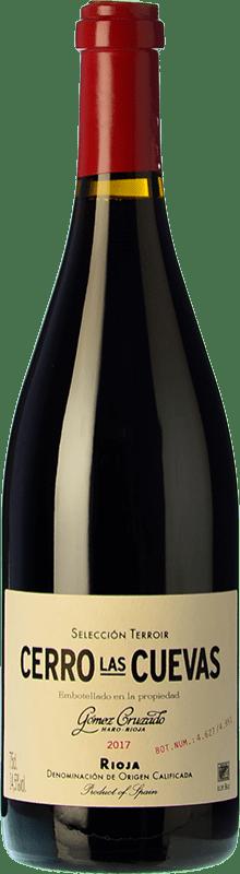 49,95 € Envoi gratuit | Vin rouge Gómez Cruzado Cerro Las Cuevas Crianza D.O.Ca. Rioja La Rioja Espagne Tempranillo, Graciano Bouteille 75 cl